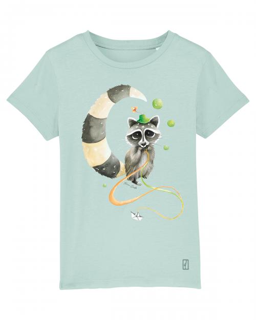 T-shirt Mapache Kids